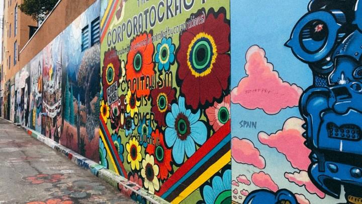 Nicole Kat Clarion Alley Street Art Walls