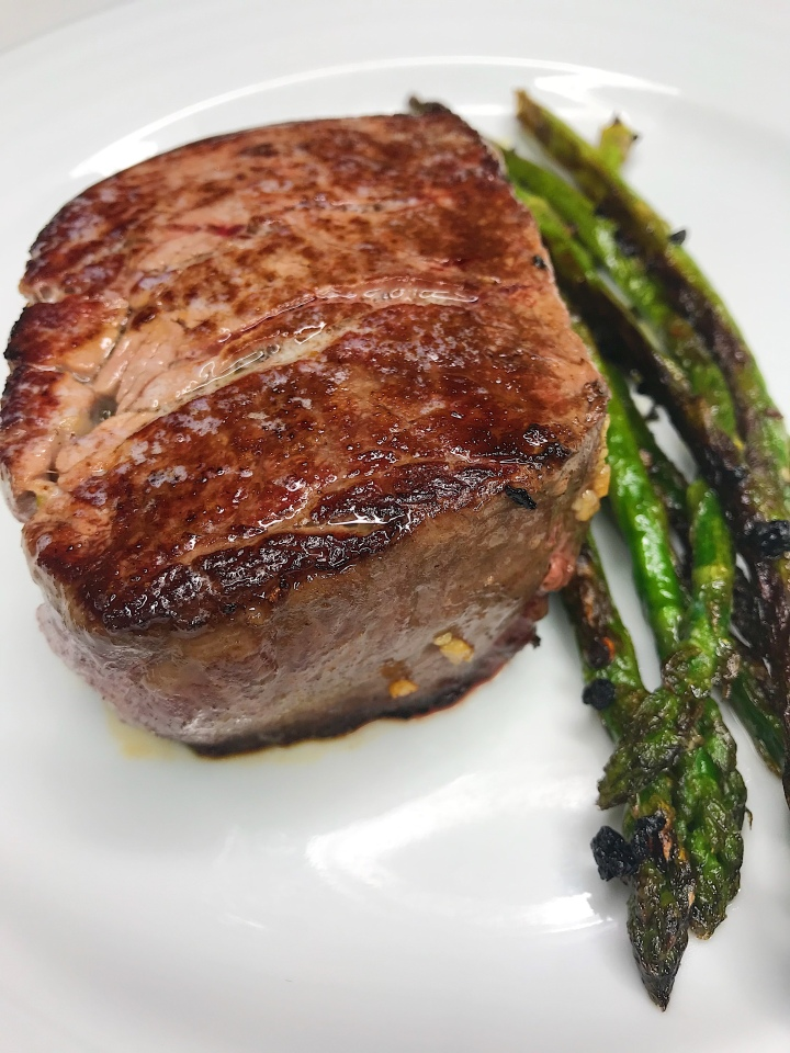 Buttery Reverse-Seared Filet Mignon
